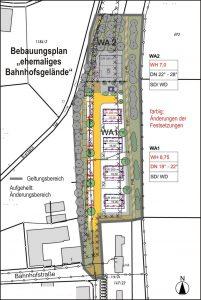 """Bebauungsplan """"ehemaliges Bahnhofsgelände in Taufkirchen (Vils)"""""""