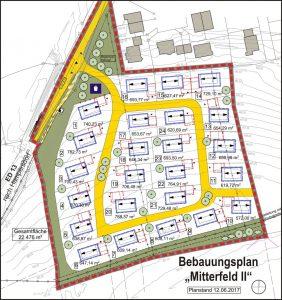 Bebauuungsplan Moosen Süd, 2017