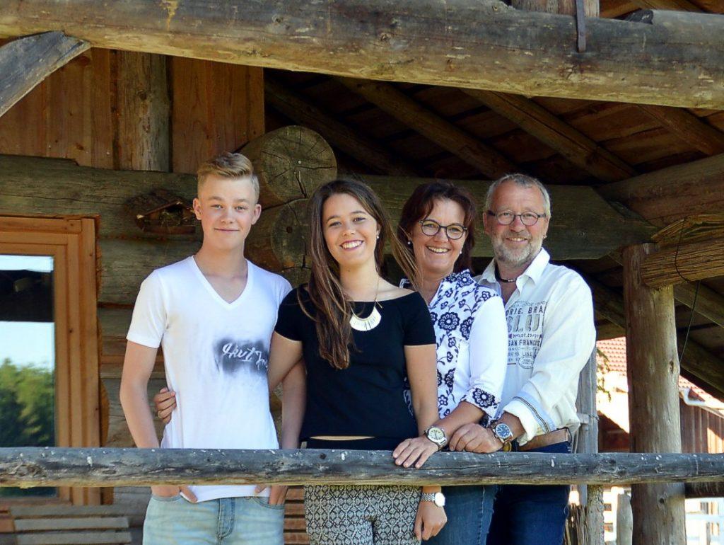 Wegmann Bertl ud Familie