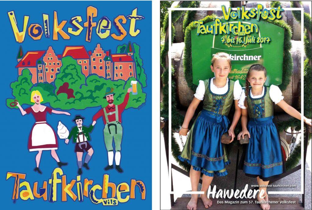 Volksfest Poster + Hawedere