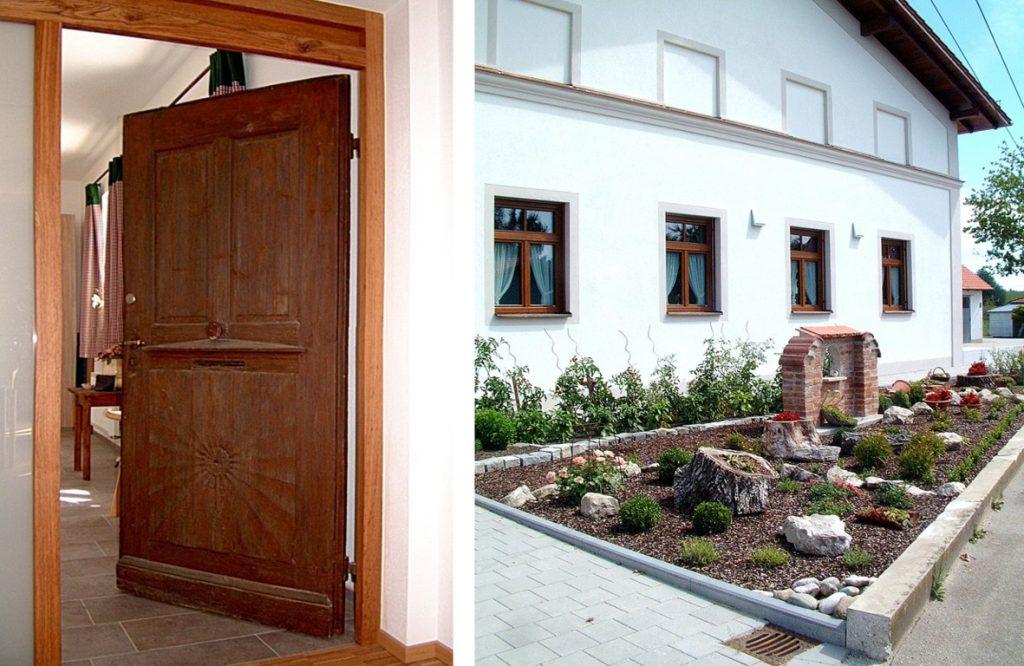 HofkirchenBürgerhaus Saaltüre + Garten