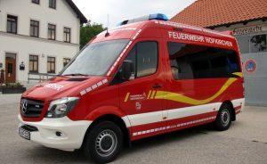 Neues Mehrzweckfahrzeug FFW Hofkirchen