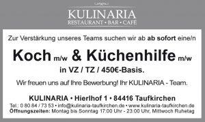 Jobbörse Kulinaria Koch
