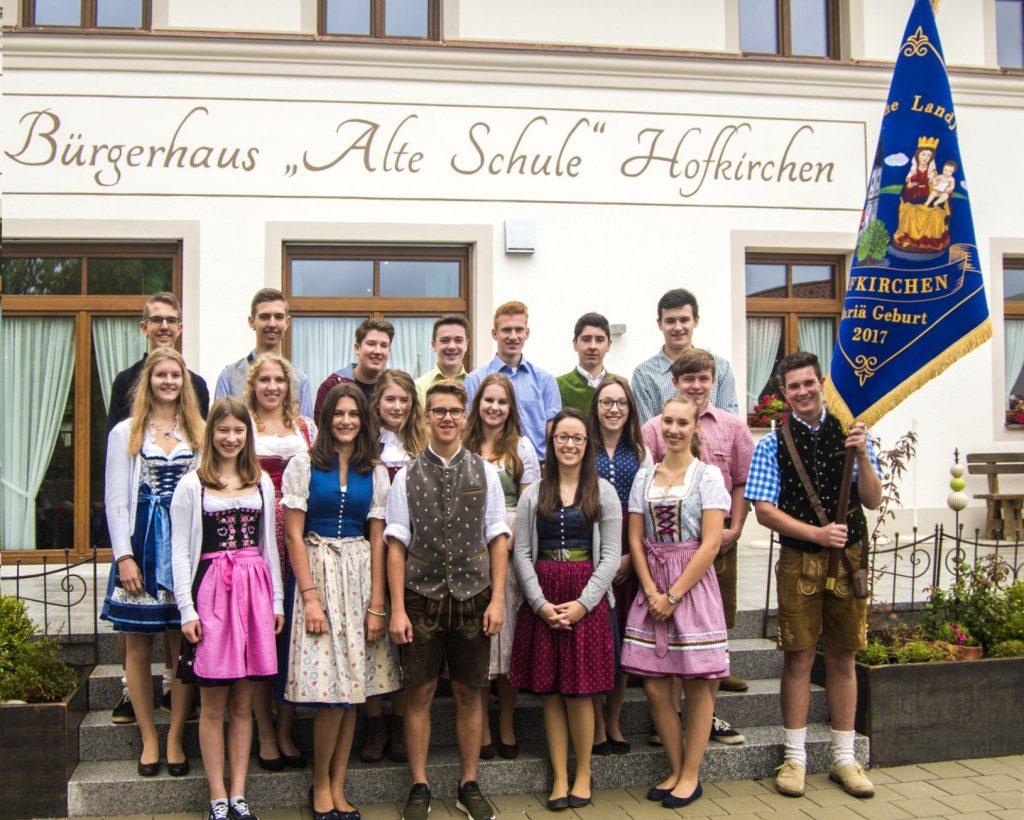 KLJB-Hofkirchen Fahnenweihe