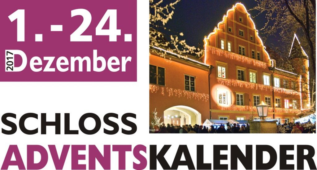 Schloss-Adventskalender 2017