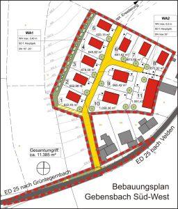 BPlan Gebensbach Süd-West