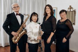 Trio Anima Viva mit Gastsängerin