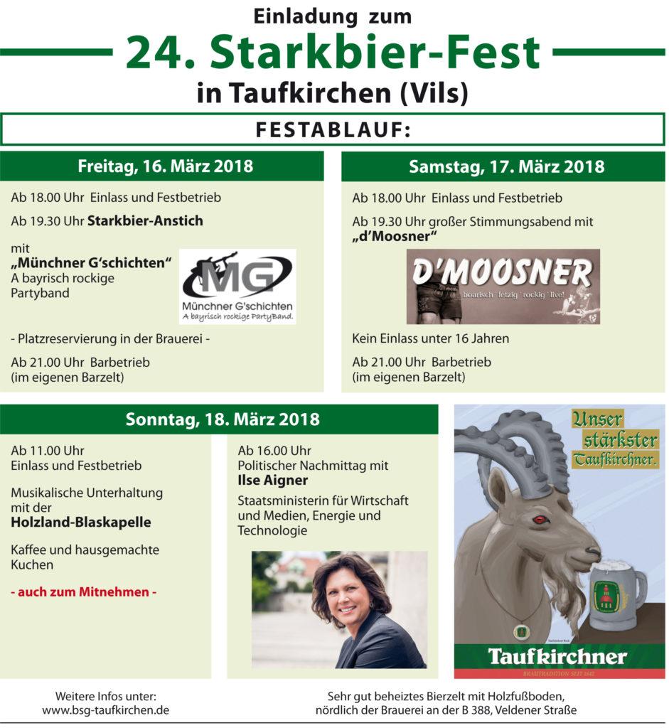 Starkbierfest 2018