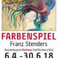 Vernissage Ausstellung Franz Stenders