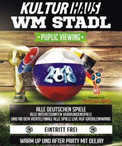 WM-Stadl 2018 KulturHaus