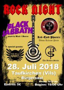 Poster Rock Night