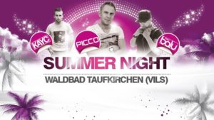 Poster Summer Night