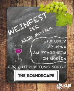 KLJB-Moosen Weinfest 2018