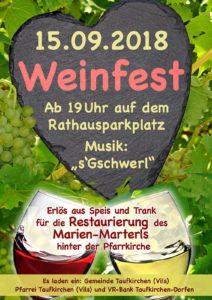 Weinfest Rathausplatz