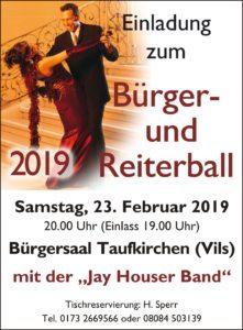 BürgerReiterball 2019