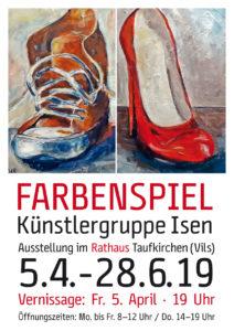 Künstlergruppe Isen Poster