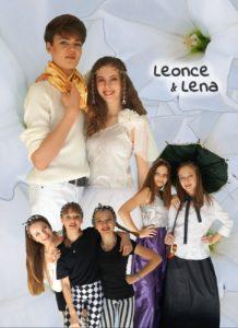 Realschule Plakat Leonce & Lena