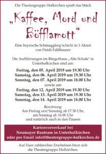 Theater Hofkirchen 2019
