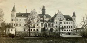 Wasserschloss Nordseite 1924