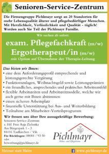 SSZ Jobangebot Ergo-Pflege