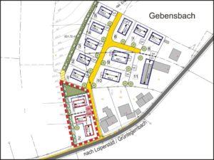 Bauleitplanung Gebensbach SüdWest