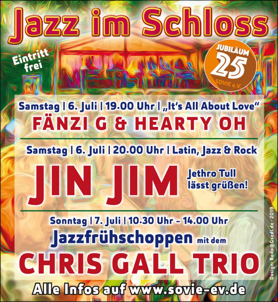 Jazz im Schloss Vorschau 2019