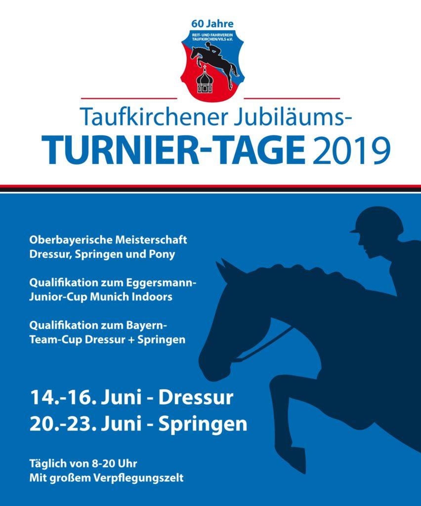 Reitverein Plakat Turniertage 2019