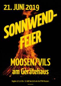 Sonnwendfeier FFW-Moosen