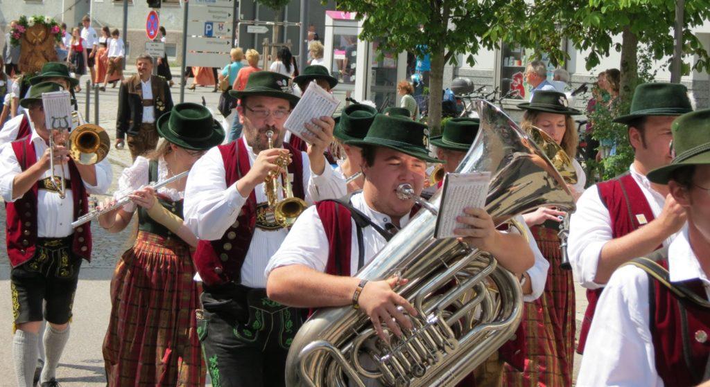 Volksfest Auszug 2012