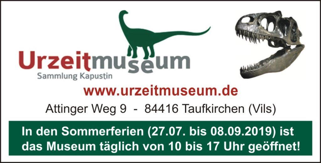 Urzeitmuseum Ferien Kompass 2019