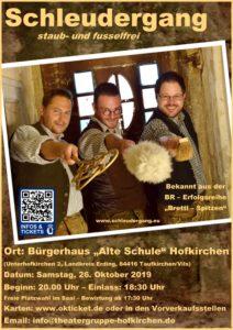 Unterhofkirchen Musik & Kabarett Schleudergang