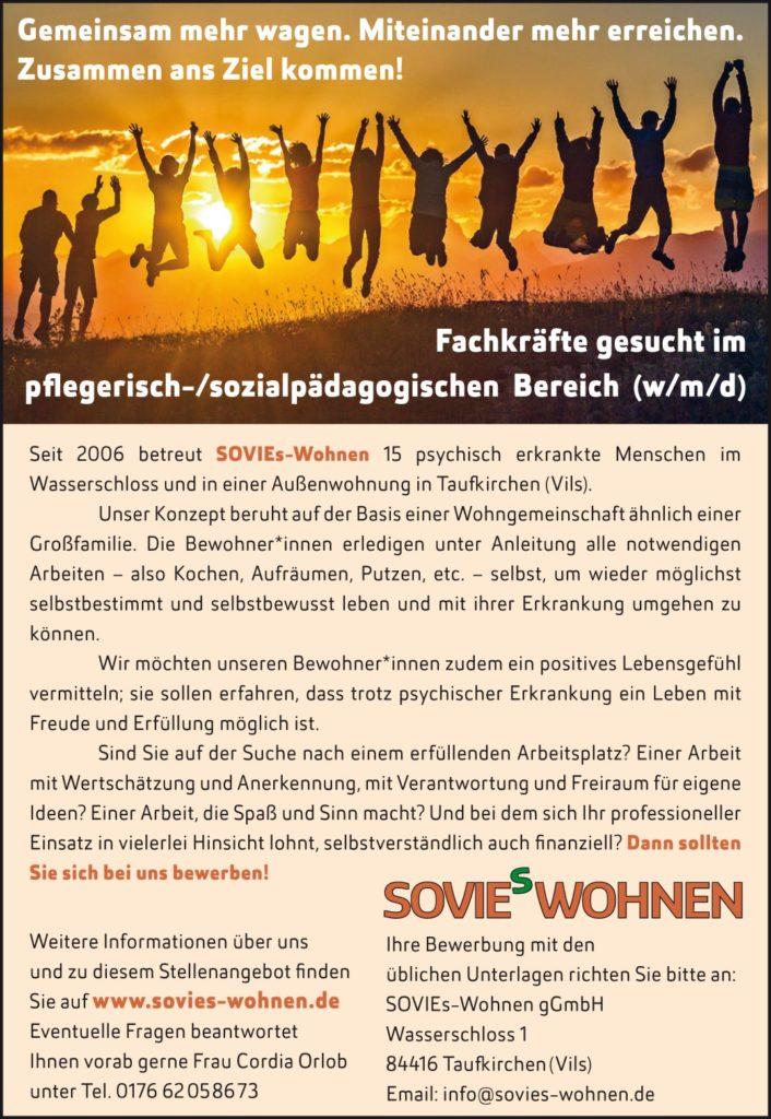 Job SOVIE's Wohnen