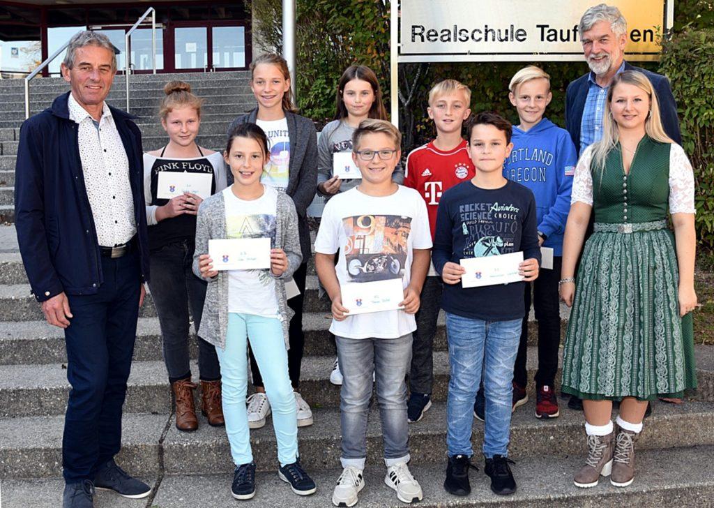 Realschule Gemeinderallye Preisübergabe