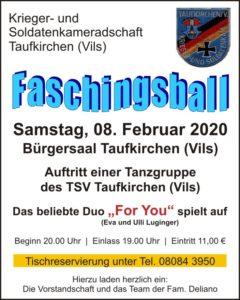 Faschingsball KSK-Tfk 2020