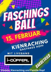 Faschingsball Kienraching 2020
