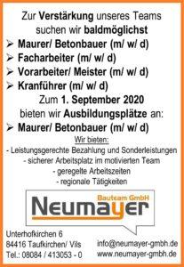 Job-Börse Neumayer 2020-1