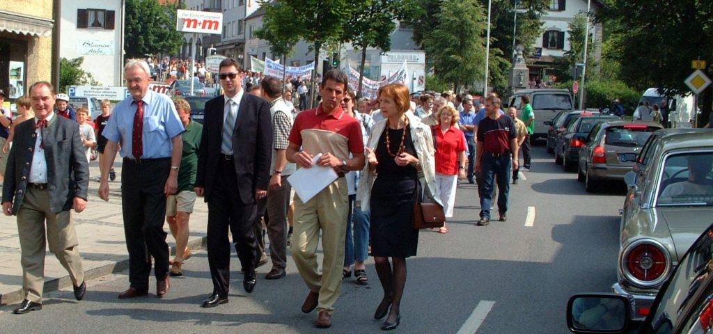 04Protest B388-Umfahrung 2003
