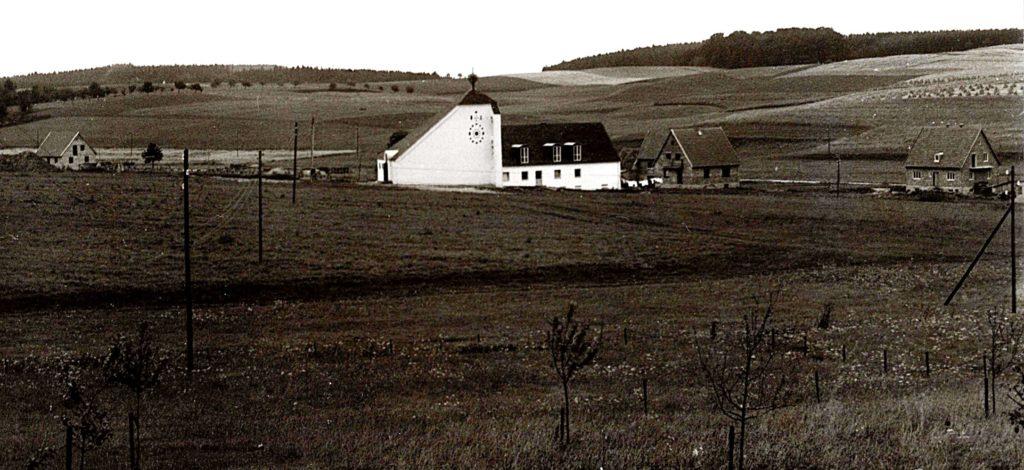 Johanneskirche Kirchfeld 1956