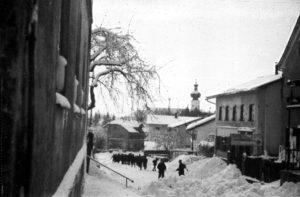 Gemeindearchiv Schneeräumen Landshuter Straße 1944