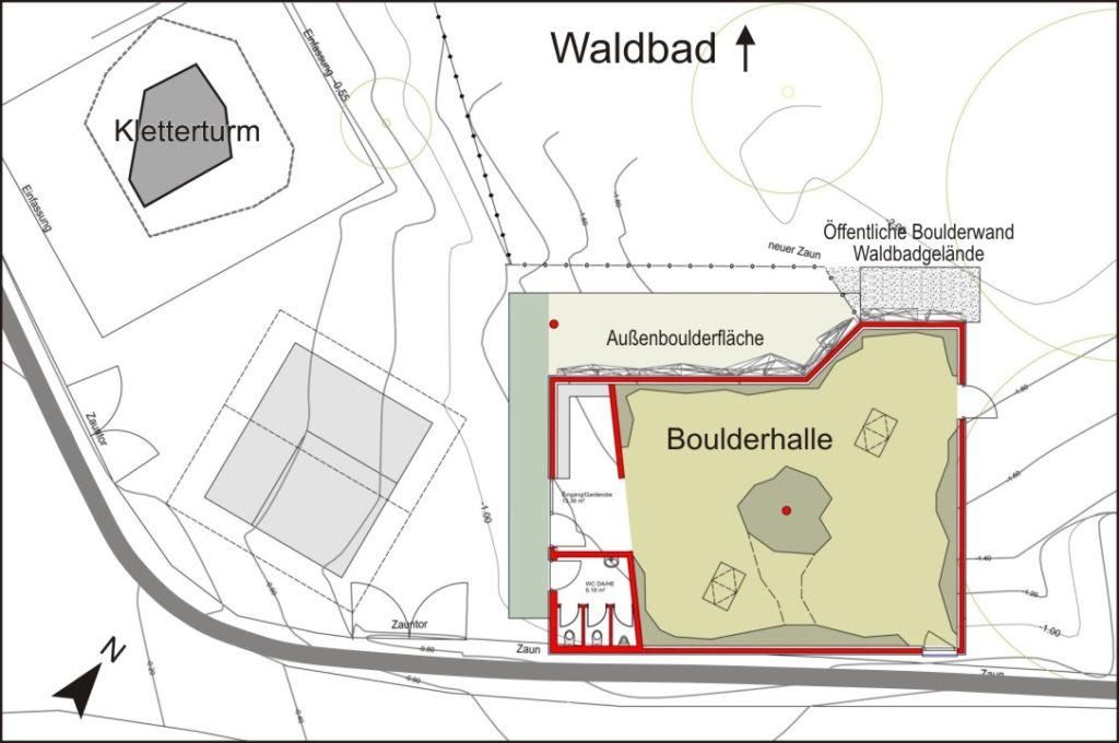 05DAV Entwurf neue Boulderhalle