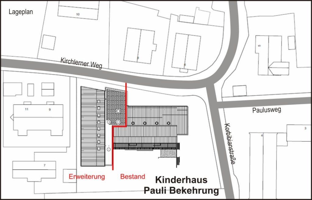 05Entwurf KiHaus PauliBekehr 2021 Lageplan