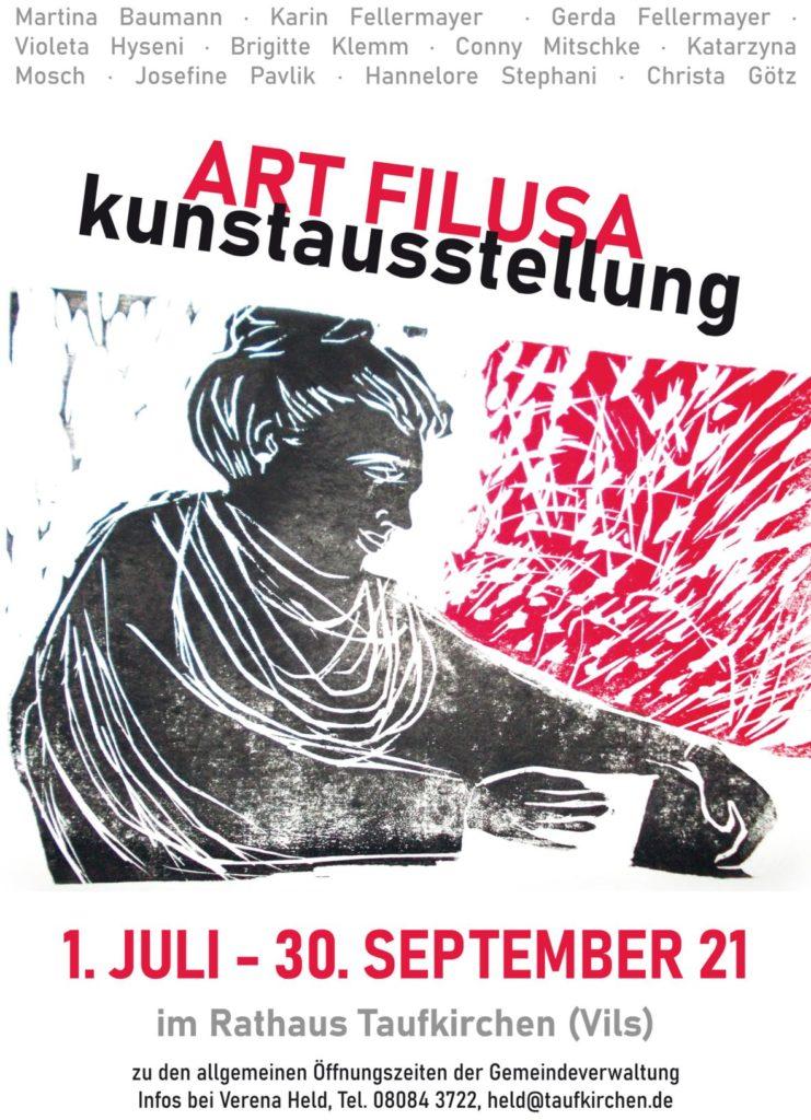 06 Kunstausstellung Art Filusa 2021 im Rathaus