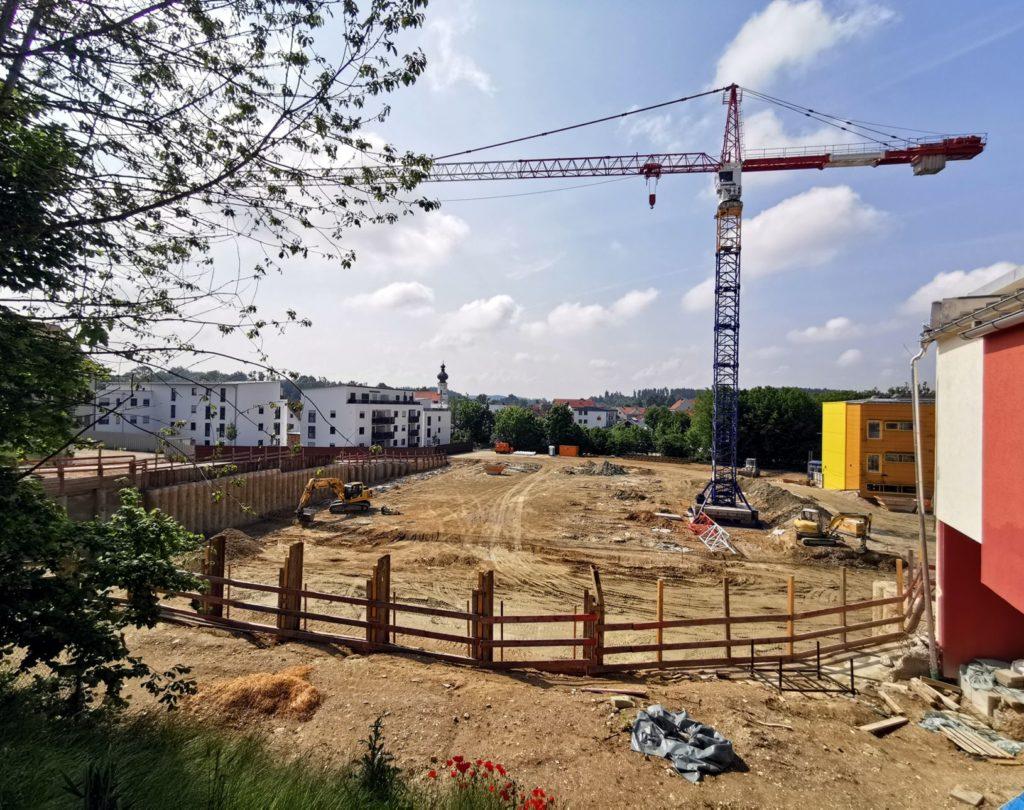 06 Mittelschule Baustelle Juni 2021