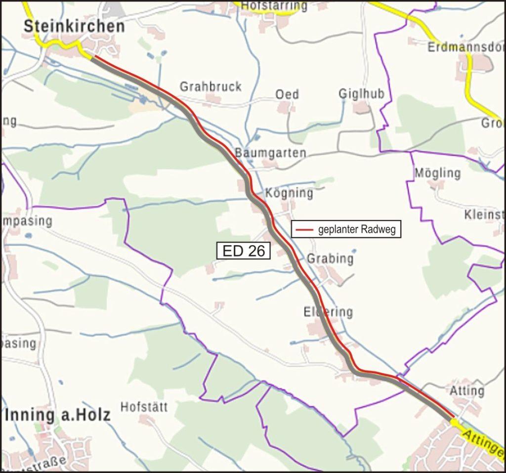 06 Radweg AttingerStr Steinkirchen