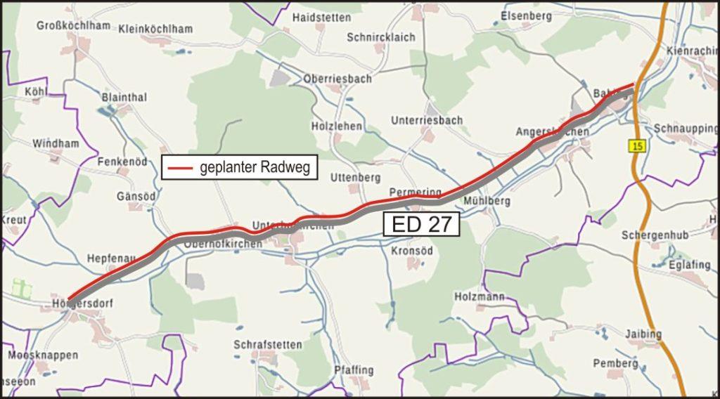 06 Radweg Babing Hörgersdorf