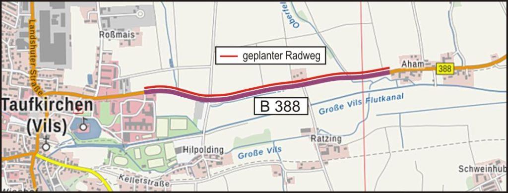 06 Radweg Taufkirchen Aham